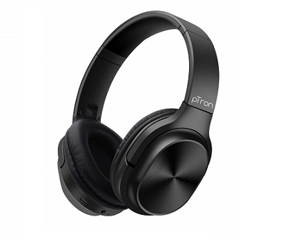 pTron Studio Classic BEST BT headphone under 1500 rs